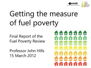 Interim report (1)   Whether  fuel poverty is a distinct problem