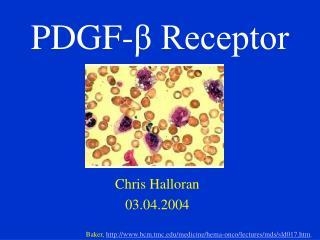 PDGF- β Receptor