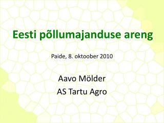 Eesti põllumajanduse areng