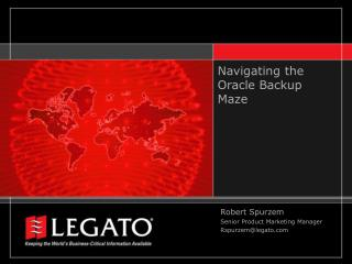 Navigating the Oracle Backup Maze