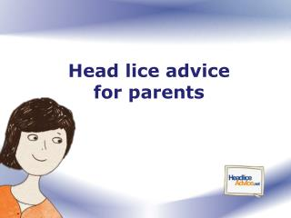 Head lice advice  for parents
