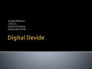 Digital  Devide