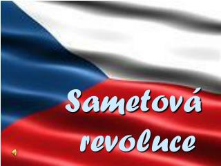 Sametov� revoluce