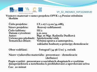 VY_32_INOVACE_ SVF32260DUD
