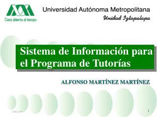 Sistema de Información para el Programa de Tutorías