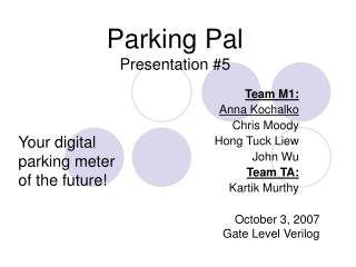 Parking Pal Presentation #5