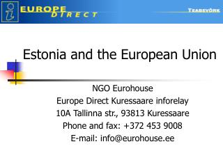 Estonia and the European Union