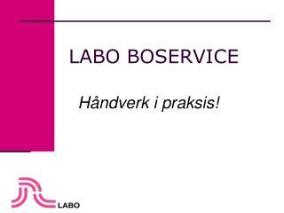 LABO BOSERVICE