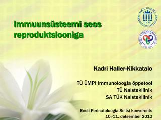 Immuunsüsteemi seos reproduktsiooniga