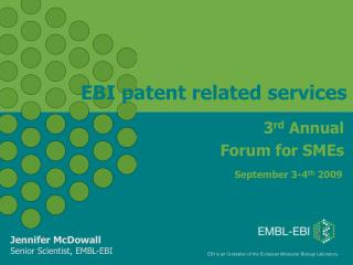EBI patent related services