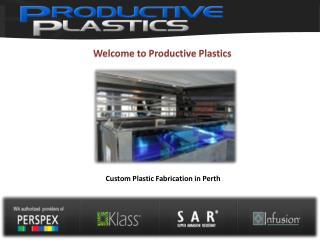 Productive Plastics