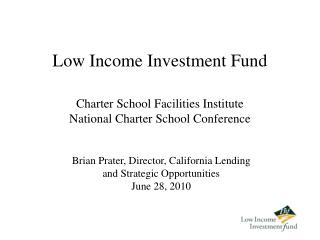 Low Income Investment Fund