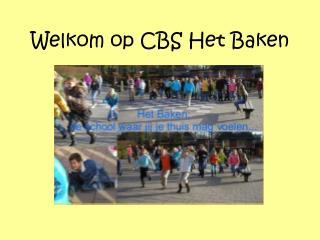 Welkom op CBS Het Baken