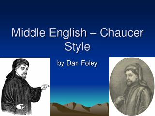 Middle English   Chaucer Style