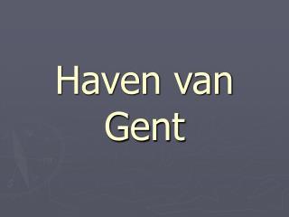 Haven van Gent