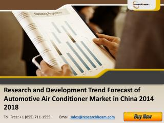 China Development of Automotive Air Conditioner 2014-2018