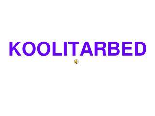 KOOLITARBED