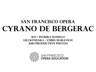 Placido Domingo in Cyrano de Bergerac; photo by Marie-Noëlle Robert/Théâtre du Châtelet.