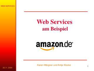 Web Services am Beispiel