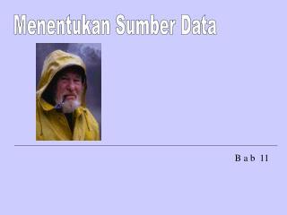 Menentukan Sumber Data