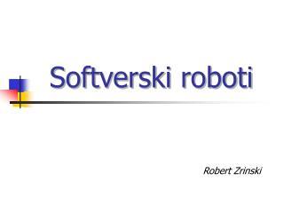 Softverski roboti