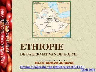 ETHIOPIE DE BAKERMAT VAN DE KOFFIE