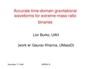 Accurate time-domain gravitational waveforms for extreme-mass-ratio binaries