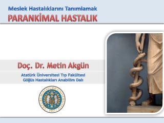 Doç. Dr. Metin Akgün