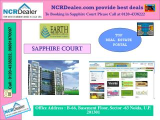 Earth Infrastructure new Earth Sapphire Court @ 09891870097