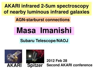 AKARI infrared 2-5um spectroscopy of nearby luminous infrared galaxies