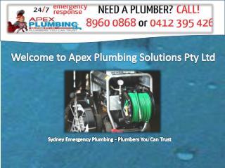 Apex Plumbing Solutions
