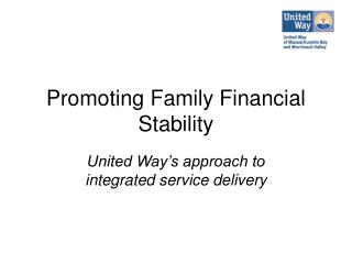 Promoting Family Financial Stability