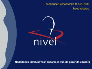 Nederlands instituut voor onderzoek van de gezondheidszorg
