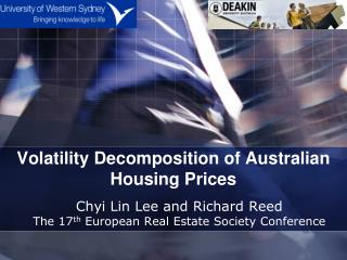 Volatility Decomposition of Australian Housing Prices
