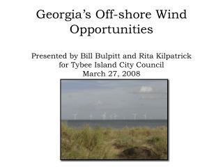 Georgia Wind Working Group