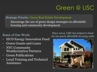 Green @ LISC