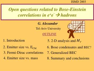 Open questions related to Bose-Einstein correlations in e + e _  hadrons