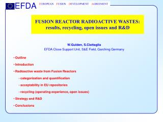 FUSION REACTOR RADIOACTIVE WASTES: results, recycling, open issues and R&D