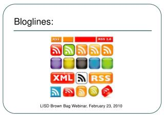 Bloglines: