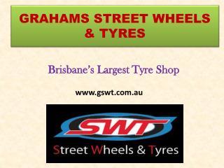 Largest Wheels & Tyres Shop in Brisbane