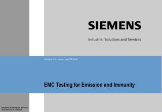 EMC Testing for Emission and Immunity