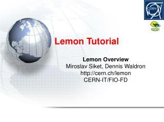 Lemon Tutorial