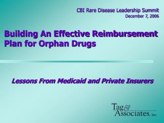 CBI Rare Disease Leadership Summit