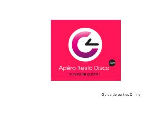 Guide de sorties Online