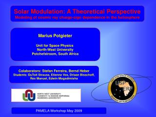 Solar Modulation: A Theoretical Perspective