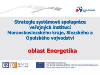 Strategie systémové spolupráce  veřejných institucí
