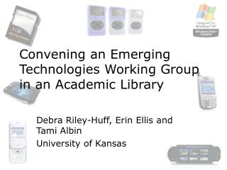 Convening an Emerging Technologies Working Group in an Academic Library