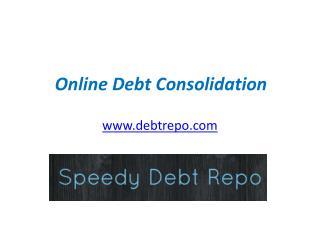 Online Debt Consolidation - www.debtrepo.com