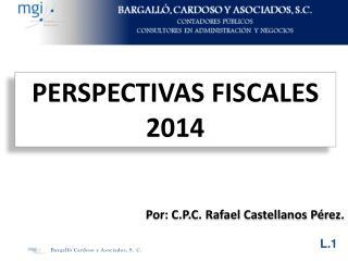 PERSPECTIVAS FISCALES 2014