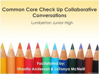 Common  Core  Check Up Collaborative Conversations